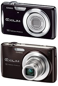 Casio Exilim EX-Z270 e Z400