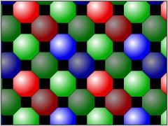EXR sottoesposizine metà pixel