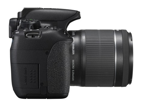 EOS 700D SIDE RIGHT w EF-S 18-55mm IS STM