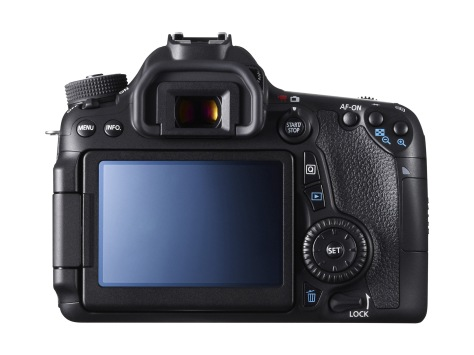 EOS 70D BCK VARI ANGLE MONITOR FACE UP
