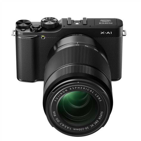 X-A1_Black_Front_High_angle_50-230mm-r82