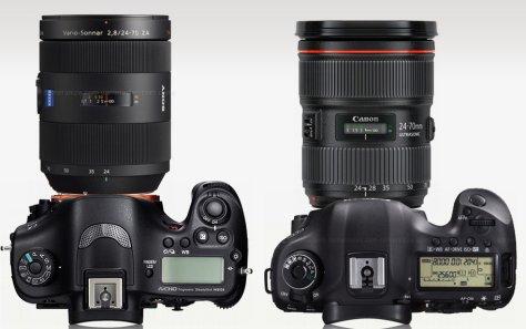 Sony A99 Zeiss 24-70/2,8 - Canon 5D III 24-70/2,8 L II