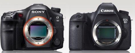 Sony 9 - Canon 6D