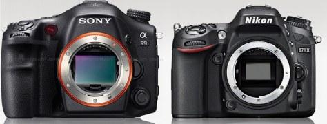 Sony A99 - Nikon D7100