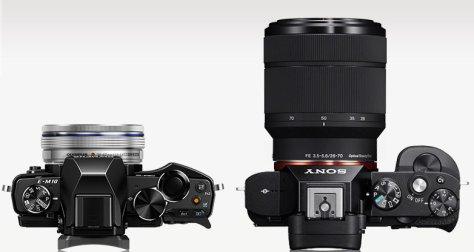 E-M10_A7_top_lens