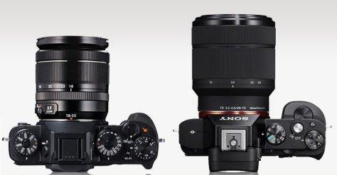 X-T1_A7_top_lens