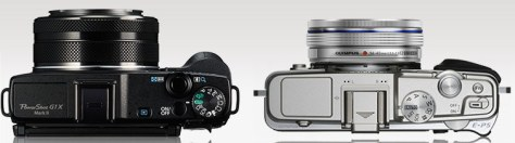 Canon G1X II - Olympus PEN E-P5 14-42 EZ