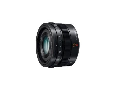 15mm-F1s.7 ASPH lens (H-X015) Black slant