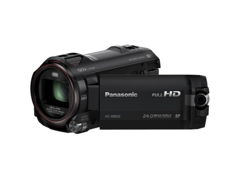 Panasonic Camcorder (W850) Black slant LCDs
