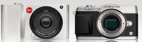 Leica-T_Olympus-E-P5_front