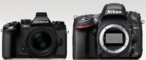 E-M1 - Nikon D610