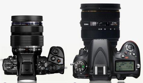 E-M1 con 12-40/2,8 - Nikon D610 con Sigma 24-70/2,8