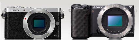 Lumix GM1 - Sony NEX-5T