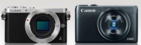 Lumix GM1 - Canon S120