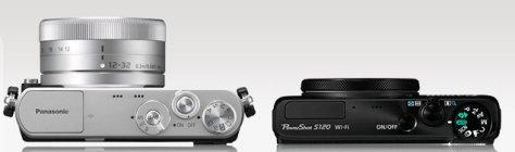 Lumix GM1 GX 12-32 - Canon S120