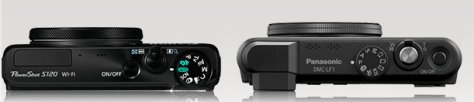 Canon S120 - Panasonic LF1