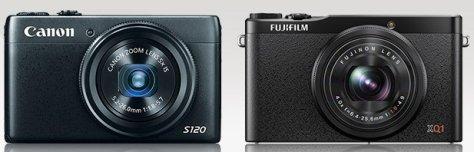 Canon S120 - Fujifilm XQ1
