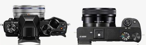 E-M10_A6000_top_lens