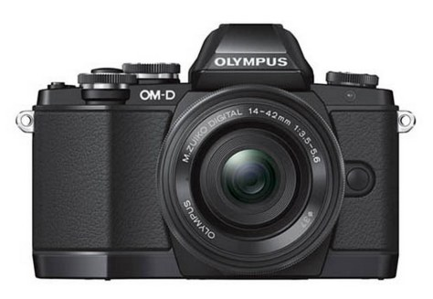 Olympus-OMD-E-M10-camera-front