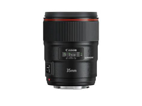 Canon EF 35mm f1s.4L II USM FRT