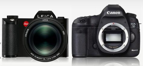 Leica_SL-Canon_5D III_front