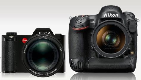 Leica_SL-Nikon_D4s_front