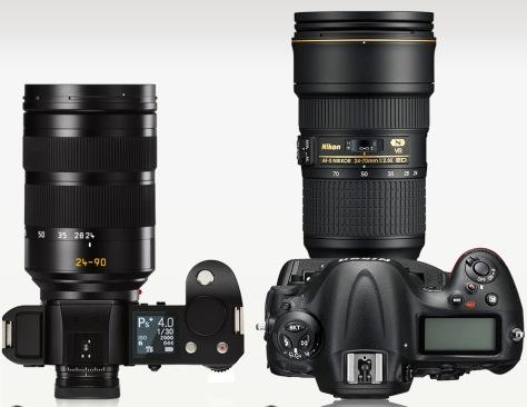 Leica_SL-Nikon_D4s_top_lens