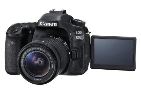 EOS 80D EF-S 18-55mm IS STM LCD Open FSL-s