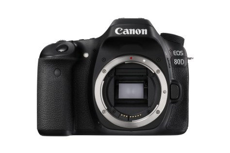 EOS 80D No Lens FRT-s