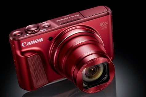 PowerShot SX720 HS RED Gallery FST BK Beauty-s