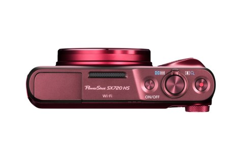 PowerShot SX720 HS RED TOP-s