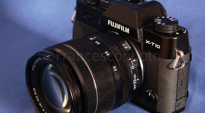 Fujifilm X-T10: test