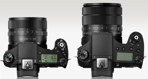Sony RX10 II - RX10 III