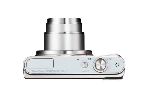 Powershot_SX620HS WH Top Lens Out