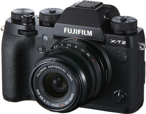 XF23mmF2 R WR_Black+X-T2