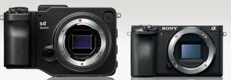 Sigma SD Quattro -Sony A6500