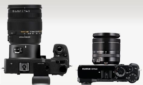 Sigma SD Quattro - Fujifilm X-Pro2