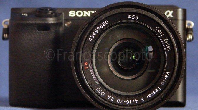 Sony A6300: test