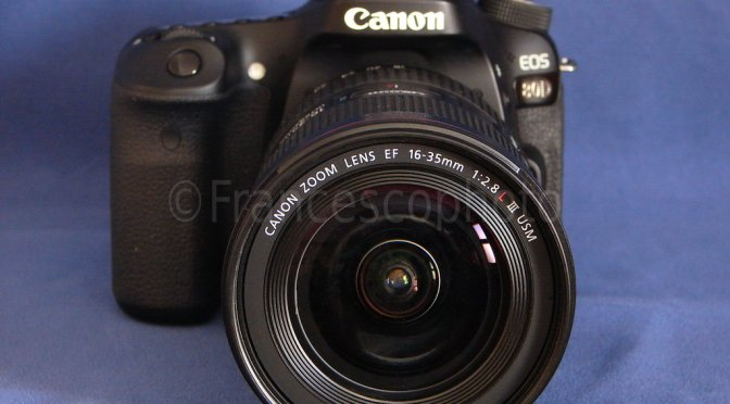 Canon EOS 80D: test