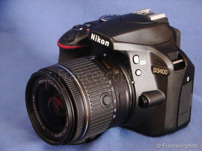 Nikon D3400: test