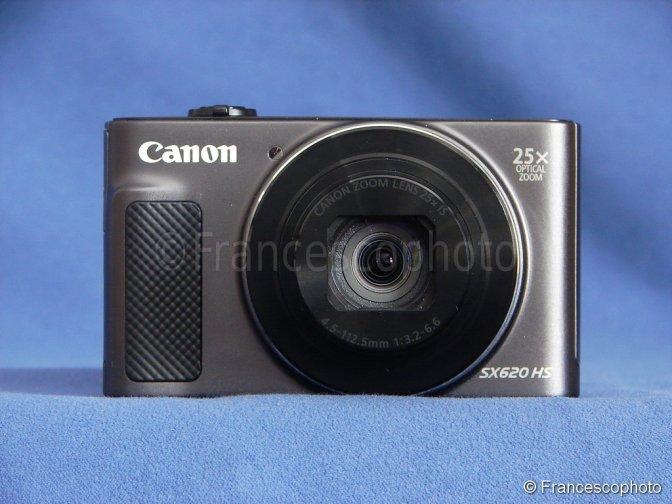 Canon SX620HS: test sprint