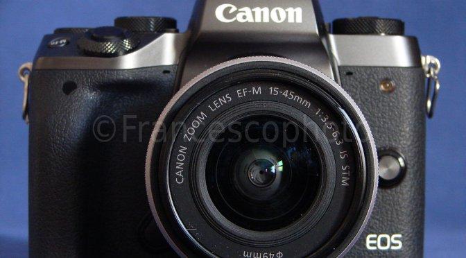 Canon EOS M5: test