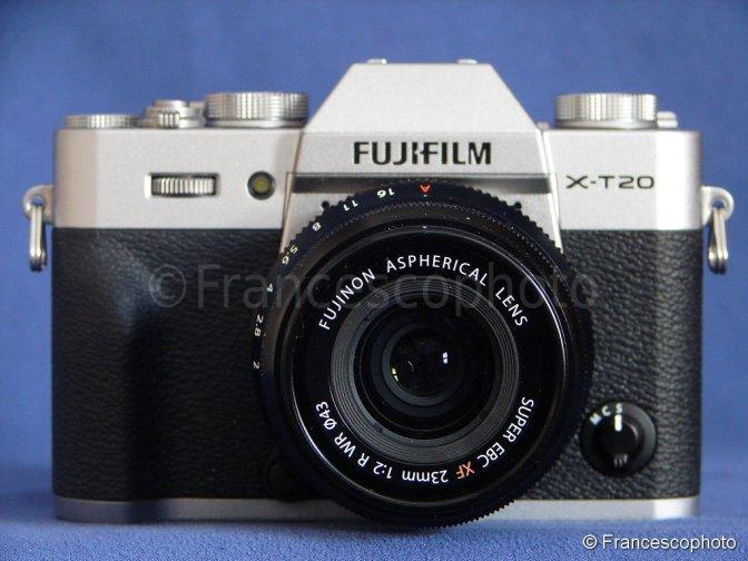 Fujifilm X-T20: test