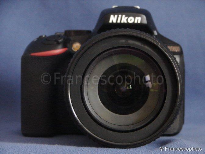 Nikon D5600: test