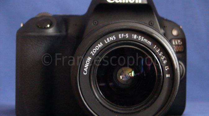 Canon EOS 200D: test