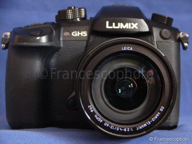 Panasonic GH5: test