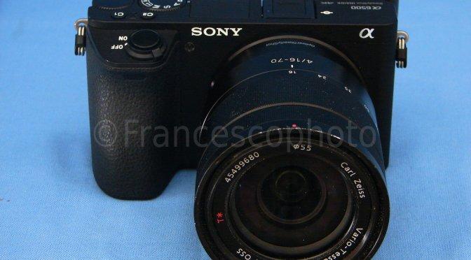 Sony A6500: test