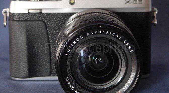 Fujifilm X-E3: test