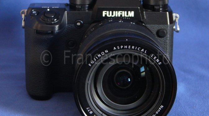 Fujifilm X-H1: test