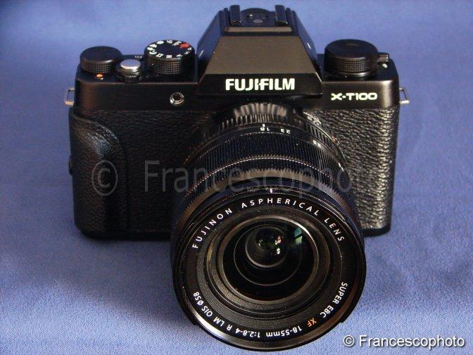 Fujifilm X-T100: test